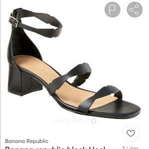 Banana Republic Size 8 Block Heeled Sandals